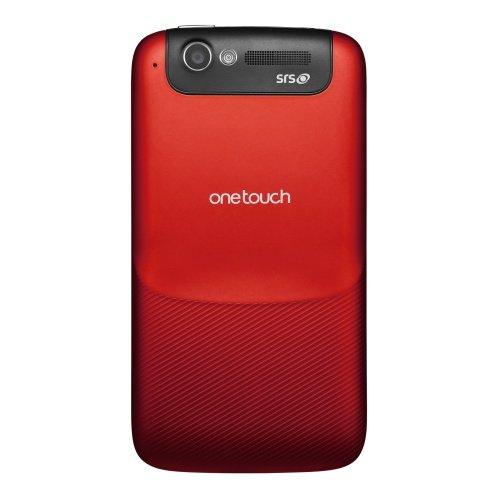 Alcatel One Touch OT-997D in Rot (DualCore, DualSim, 1GB Ram)