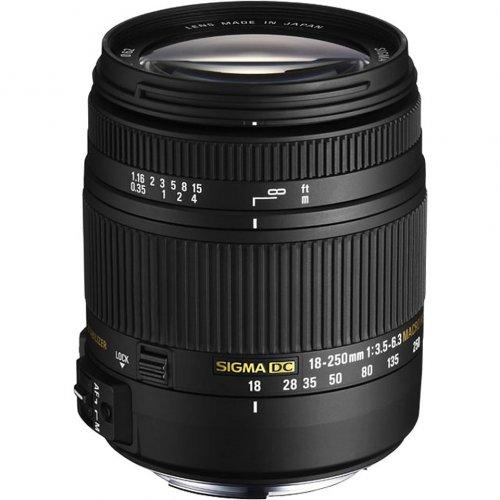 Objektiv SIGMA 18-250mm F/3.5-6.3 Objektiv für Sony / Minolta für nur 243,54 EUR inkl. Versand