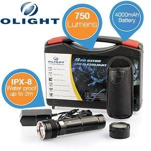 Olight S80 Baton - 750 Lumen + 4000mAh Lithium-Batterie für 49,95€ + 5,95€ Versand @iBOOD