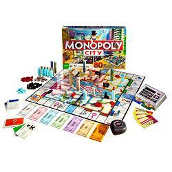 PARKER Monopoly City Set mit Bankkarte für 29,99 sonst ca. 45-50 Euro!