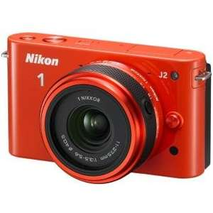 NIKON 1 J2 Orange KIT inkl. Nikkor 11-27,5 mm (HOT-DEAL) bei redcoon.de VglPreis 218€