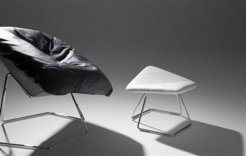 EBAY  Ronald Schmitt Design Lounge Sessel LUNA 3 Farben für nur 289.- Euro