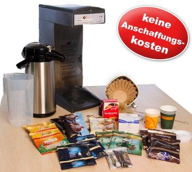 Anfrage schicken & Gratis testen.Kaffeeversorgung für Unternehmen!