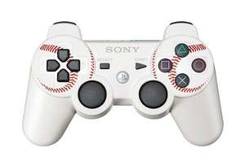 Playstation 3 Controller MLB11 Edition in Weiß