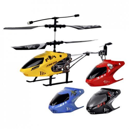 Starkid, I/R Cree 2 – Kanal I/R Helikopter inkl. 3 Wechsel-Bodys, Ersatz Heckrotor & Schraubenzieher für 8,10 EUR bei Lieferung in Filiale oder mit Versand für 13,05 @ real.de
