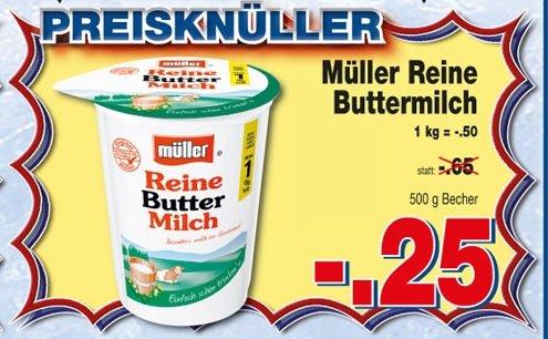 Müller Buttermilch / Kaufpark