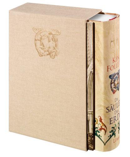 Ken Folletts Die Säulen der Erde und Die Tore der Welt in schicker Luxusausgabe im Leinenschuber für je 14,99 bei Weltbild!