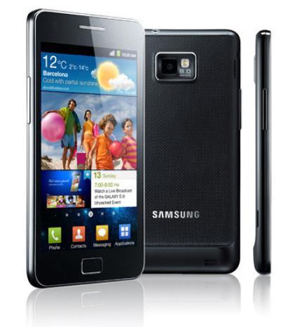 Samsung Galaxy 2 I9100 + O2 Blue 100 für 764€ bei TT.de