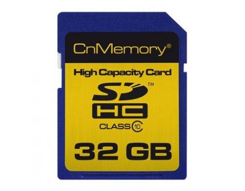 CnMemory™ - 32GB SDHC Speicherkarte (Class 10) für €16,99 [@MeinPaket.de]