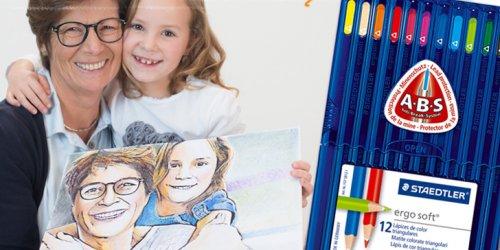 Malbuch mit eigenen Bilder & Stifte kostenlos [sonst 19,90 €]