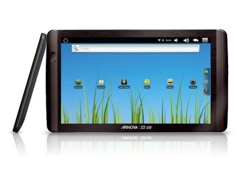 "ARCHOS Arnova 10 G2 Tablet PC 25,7cm (10,1"") kapazitivem Touchscreen 8GB Android für 89€"
