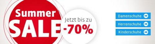 Mirapodo Summer Sale mit bis zu - 70% auf Schuhe!!!