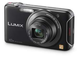 "Panasonic Lumix DMC-SZ5 mit 10x Zoom, 14,1 MP, 3"" LCD, WiFi in schwarz oder weiss für 100,04 € @Amazon.co.uk"