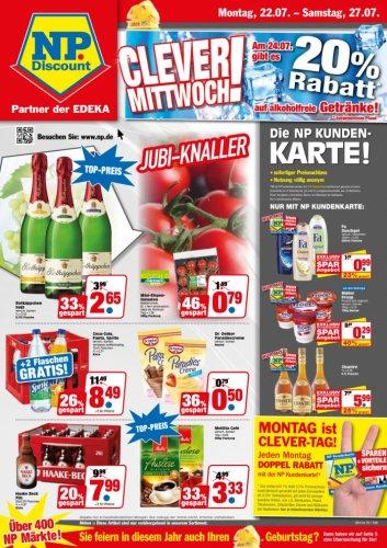 [NP Lokal raum Niedersachsen] Coca Cola,Fanta,Sprite,Light,Mezzo   14*1L nur am 24.07 ;;;; 48,5 cent/ l
