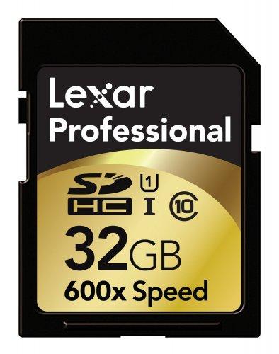 Lexar SDHC Professional 32GB Class 10 UHS-I 600x für 45,70 € @Amazon.fr