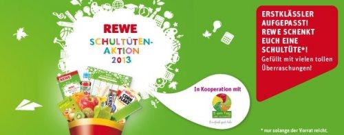 Gratis - Rewe Schultüten-Aktion 2013
