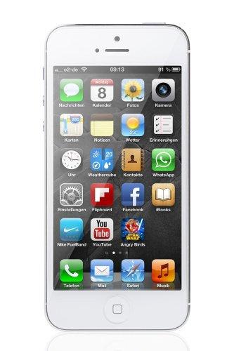 Apple iPhone 5 Smartphone 16GB (10,2 cm (4 Zoll) LED-backlit IPS-Touchscreen, 8 Megapixel Kamera, iOS 6) weiß NUR MIT T-MOBILE