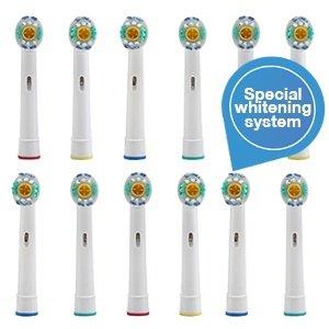 12 x  Bürstenköpfe (Aufsteckbürsten) für elektr. Zahnbürsten  mit Bleaching-Effekt für 18,90€ (1,57€ das Stück) @ IBood