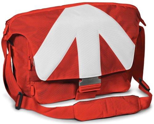 Manfrotto Stile Kollektion Unica V SLR-Kameratasche 38,1 cm (15 Zoll) rot/weiß inkl.Vsk für 35,85€ [Amazon.fr]