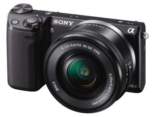 Sony NEX-5R Kit 16-50 mm schwarz (NEX-5RLB) für 504,31 € @Amazon.co.uk