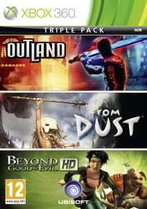 (UK) Ubisoft Triple Pack: Beyond Good & Evil HD / From Dust / Outland [Xbox360] für 10.34€ @ Zavvi