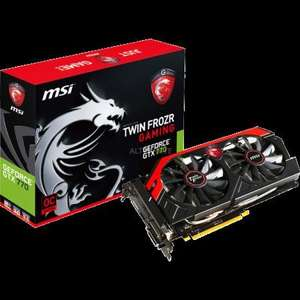 MSI GeForce GTX770 Twin Frozr (N770 TF 2GD5/OC) für 336,90 € @ZackZack - Das Liveshoppingportal
