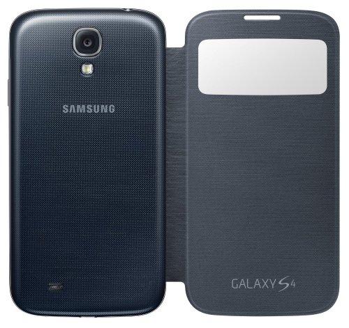Samsung Original EF-CI950BBEGWW S-View Flip Cover (für Galaxy S4) in verschiedenen Farben!! [Amazon.de]