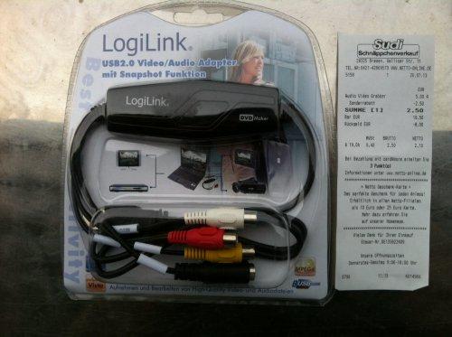 LogiLink Audio und Video Grabber mit Snapshot USB 2.0: 2,50€ [LOKAL][BREMEN] @ Sudi