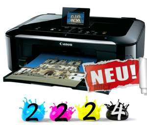 Canon Pixma MG5350 inkl. 10 Patronen mit CHIP & USB KABEL