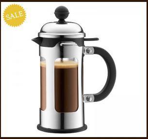 Günstige Bodum French Press (Kaffeebereiter) + 20% Gutschein oben drauf