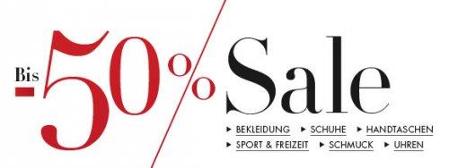 Bis zu 50% Rabatt auf Kleidung & Schuhe bei Amazon