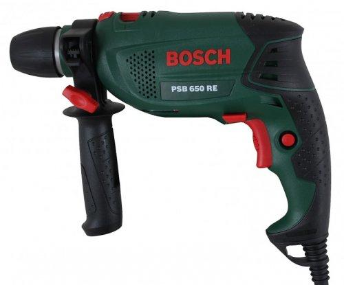 Bosch PSB 650 RE Universal Schlagbohrmaschine + Koffer (2% Qipu möglich)