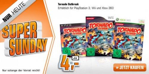 [Saturn Super Sunday] Tornado Outbreak (PS3/Wii/Xbox360) für 4€