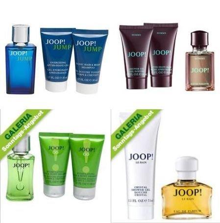 Joop!™ - 2/3-teilige Parfum Geschenksets (Homme,Jump,Go,Le Bain) ab €18,28 [@Galeria-Kaufhof.de]
