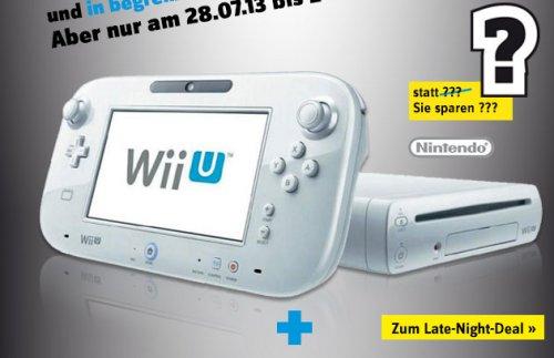 Wii U Konsole Basis Pack Weiß bei Conrad 178,29€