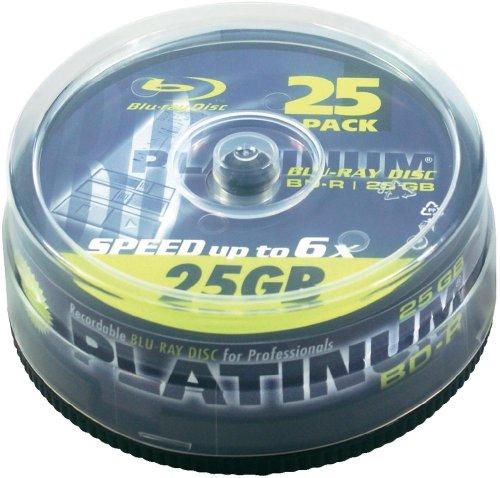 50 Platinum Blu-ray Rohlinge 25 GB für 25,90€ @Voelkner