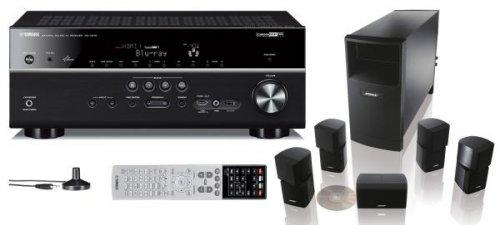 Yamaha RX-V 675 + Bose Acoustimass 10 Heimkino-System