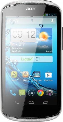 Acer Liquid E1 weiß (Dual-Sim) für 149,90€ Versandkostenfrei