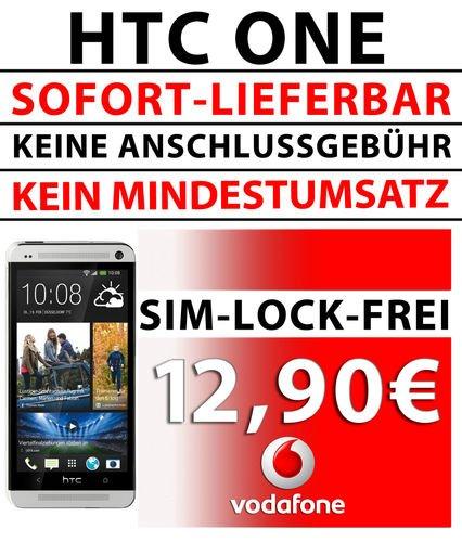 [ebay] HTC One 32GB Schwarz/Silber für 398,59€/399,59€ für Selbstständige/Studenten/Schüler etc.