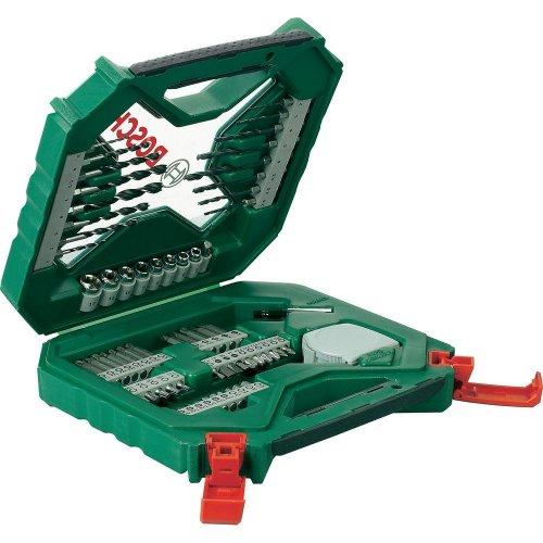 Bosch 65-tlg. X-Line Set Bohrer-Set/Bit-Set bei Conrad