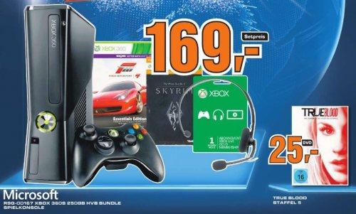 [Lokal München Freising] Saturn Xbox 360 Spielekonsole HVB Bundle oder True Blood Staffel 5 für 25 EUR