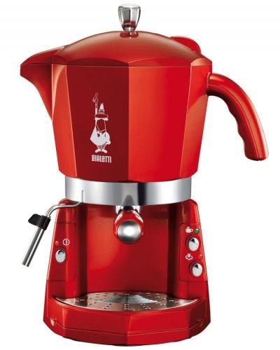 Mokana Bialetti Espressokocher Siebträger-Espressomaschine rot UVP: 239,95€ B-Ware auch in silber @dealclub