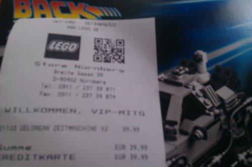 Back to the Fluxkompensator mit LEGO CUUSOO schon heute!