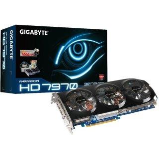 3072MB Gigabyte Radeon HD 7970 WindForce 3X