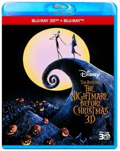 Nightmare before Christmas (+ Blu-ray 3D) inkl. Vsk für ca. 14 € [Amazon.uk]