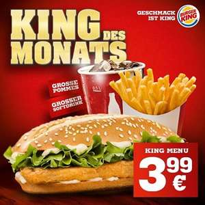 [Burger King] King des Monats (Long Chicken)