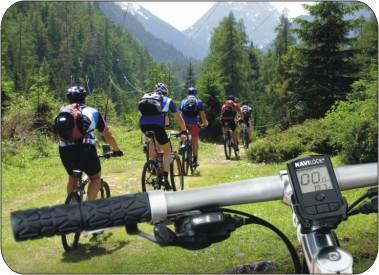GPS Fahrrad Computer