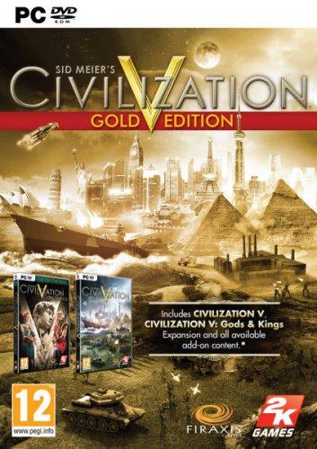 Civilization V - Gold Edition Boxed Version