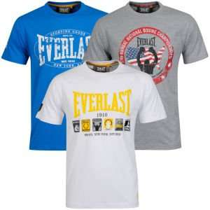 (UK) Everlast  T-Shirt 3er Pack für 25.89€ @ Thehut