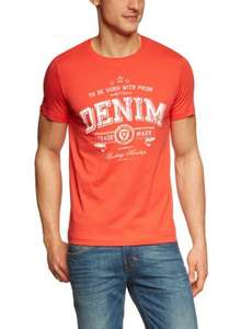 TOM TAILOR Denim Herren T-Shirt 10211780912/chest logo tee